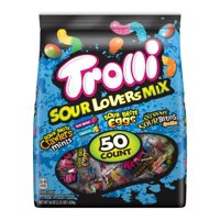 Trolli Sour Lovers Mix Gummy Candy and Worms, 36 Oz, 50 Count