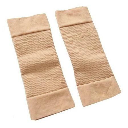 Lean Upper Arm Slimming Bands, set of 2 -Brown color