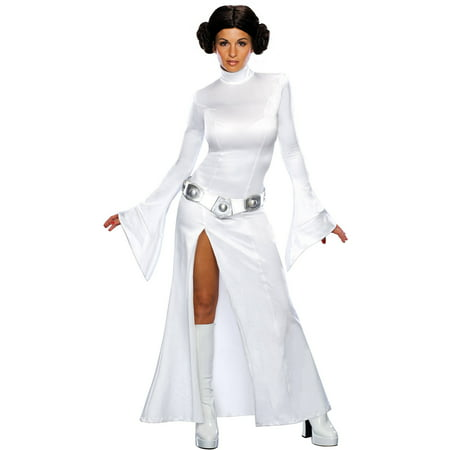 Princess Leia Adult Halloween Costume (Princess Peach Costume Women)