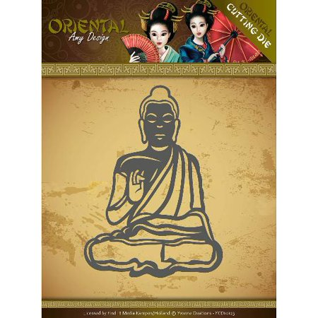 Find It Trading Amy Design Oriental Die-Meditating Buddhist (Orential Trading)