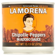(3 Pack) La Morena Chipotle Peppers In Adobo Sauce, 13.13 Oz