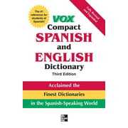 Vox Dictionary: Vox Compact Spanish and English Dictionary (Hardcover)