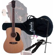 Arcadia DL41 Exclusive Acoustic Guitar Pack with On-Stage XCG4 Guitar Stand
