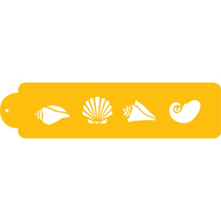 (Designer Stencils Decorating Stencil: Shell Side 2