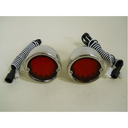 1954 Tail Light (1954 - 1959 Chevy Truck Red LED StopTurn Tail Lights / 1955 1956 1957 1958 /)
