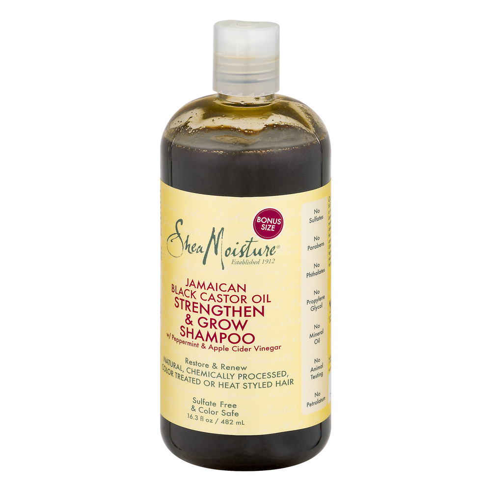 Theme of the day jamaican black castor oil for hair growth - Sheamoisture Jamaican Black Castor Oil Strengthen Grow Shampoo 16 3 Oz Walmart Com