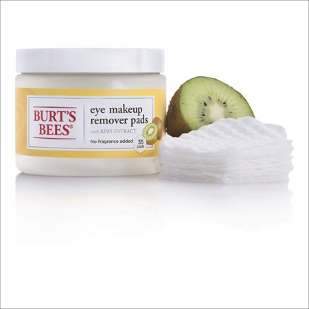 Eye Makeup Remover Pads - Kiwi Extract by Burts Bees for Unisex - 35 Pc Pads - image 3 de 7
