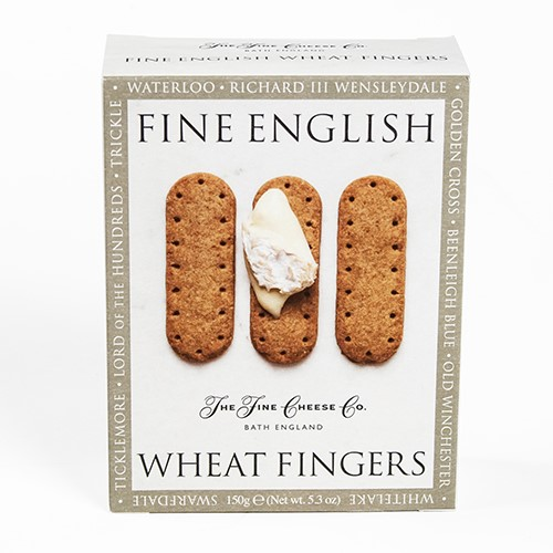 Wheat Fingers by Fine English Crackers for Cheese (5.3 ounce)