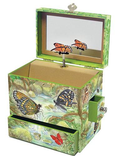 Hello Kitty 3 Drawer Jewlery Box with Dots Walmartcom