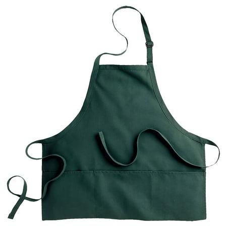 Edwards Garment Three Divisional Pocket Bib Apron, Style 9002