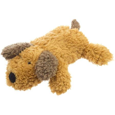 Super Soft Squeaky Dog Toy Brown Puppy 6 5 Quot Walmart Com
