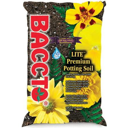 Baccto 1440 Lite Premium Potting Soil, 40 (Premium Potting Soil)