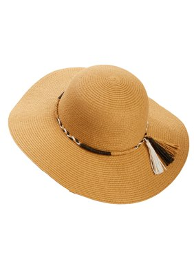 2e13c24466722b Product Image Time and Tru Women s Tassel Band Floppy Hat