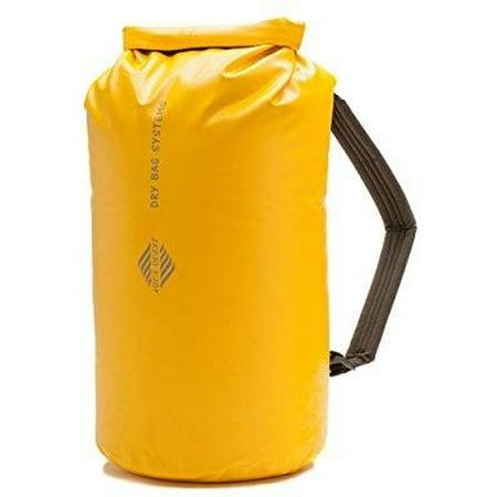 20l waterproof dry bag backpack - aqua quest mariner 20 - roll top kayaking boat bag, adjustable fit for men & women - yellow