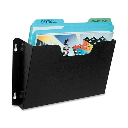 - Buddy Products Dr. Pocket Steel Add-On/Single Pocket Wall File, Letter, Black