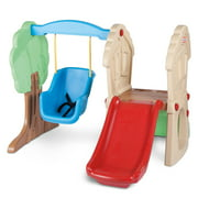 Little Tikes Hide & Seek Climber and Swing - Brown/Tan