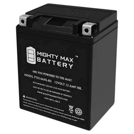 YTX14AHL 12V 12Ah Battery Replaces Lithium ION ATV Motorcycle Racing (Motorcycle Battery Lithium)