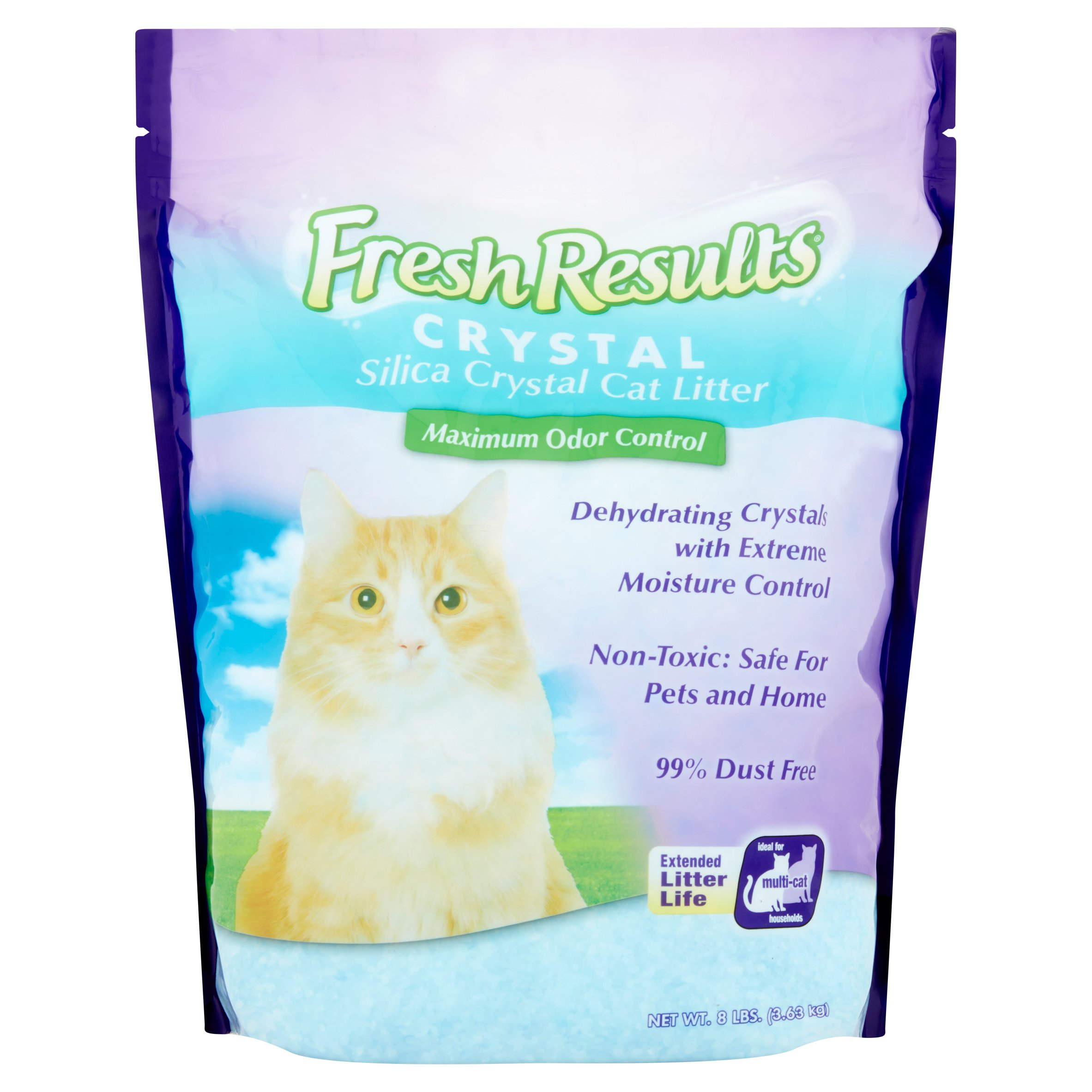 Fresh Results Crystal Cat Litter, 8 lbs