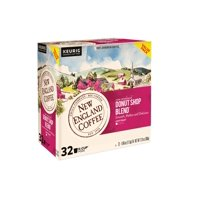 New England Coffee Donut Shop Coffee Pods, 32 Count for Keurig & K-Cup Compatible Brewers