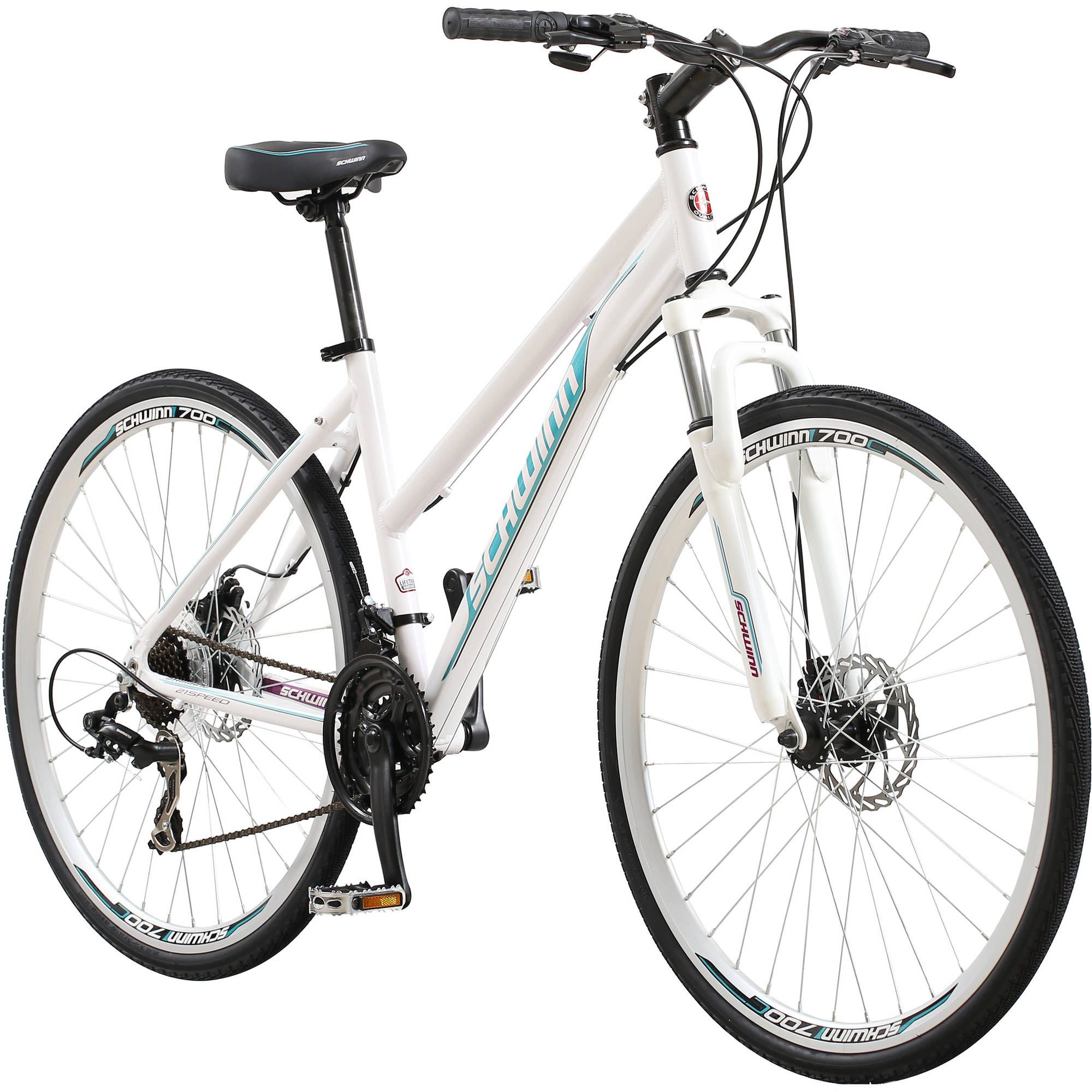 700c Schwinn DSB Women's Bike, White by Pacific Cycle