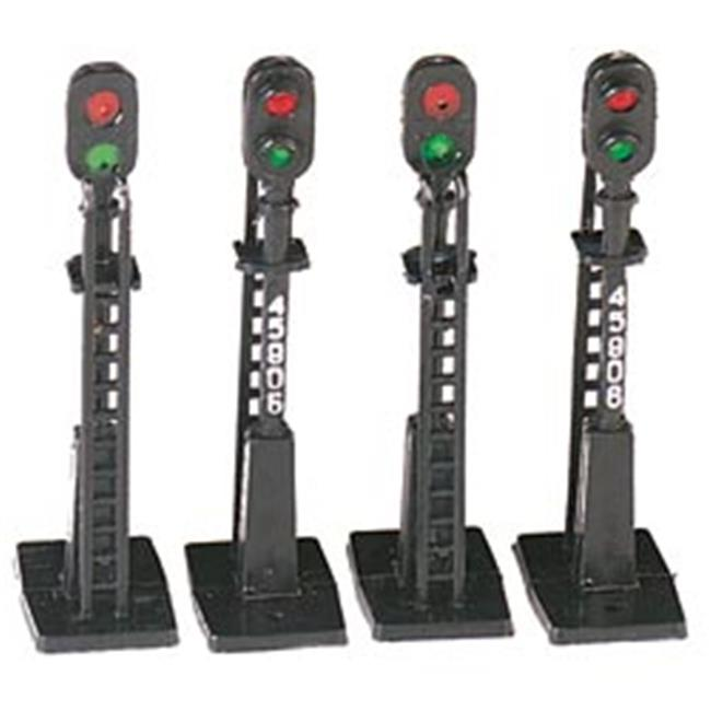 SPW BAC42101 Ho Set of 4 Block Signals Bachmann Nip