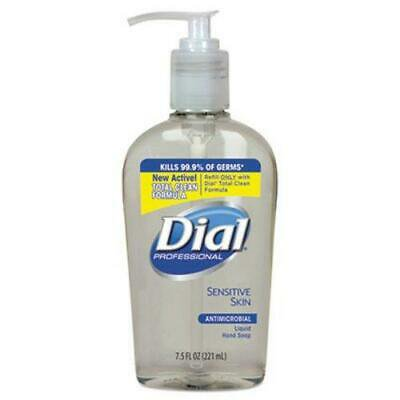 Liquid Dial Antimicrobial Soap for Sensitive Skin, 7.5oz Decor