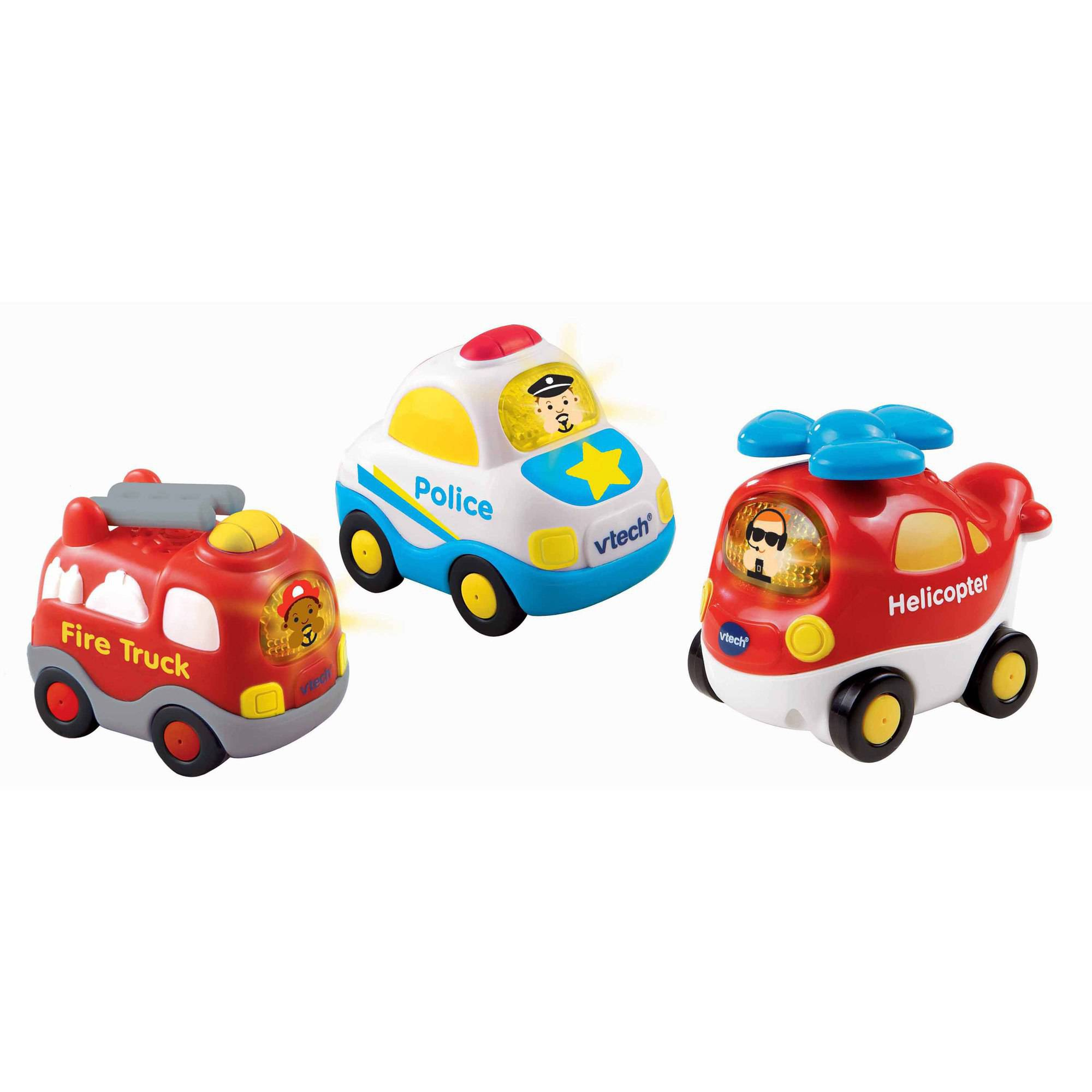 VTech Go! Go! Smart Wheels Starter Pack, 3pk