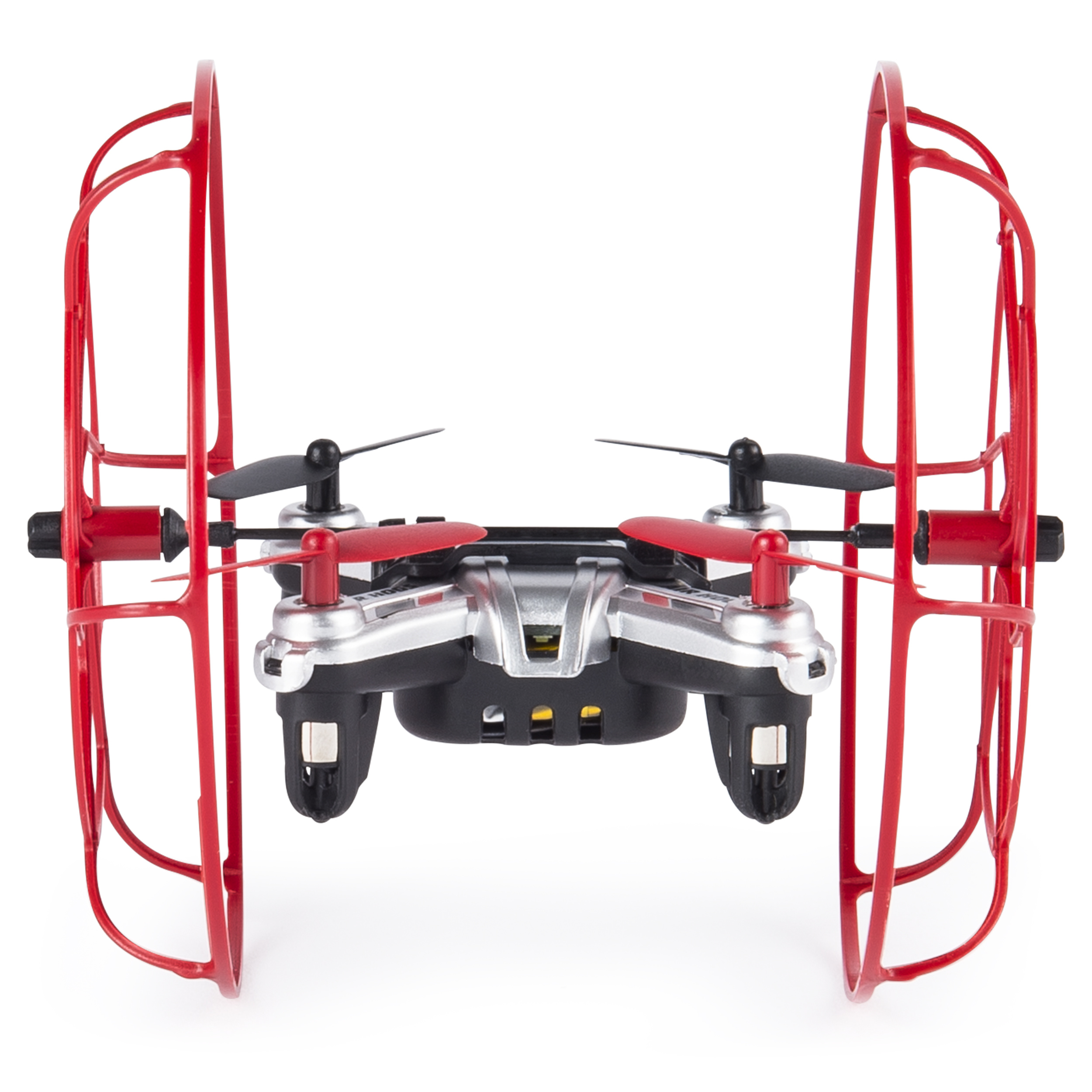 Air Hogs - Hyper Stunt Drone - Unstoppable Micro RC Drone - Red