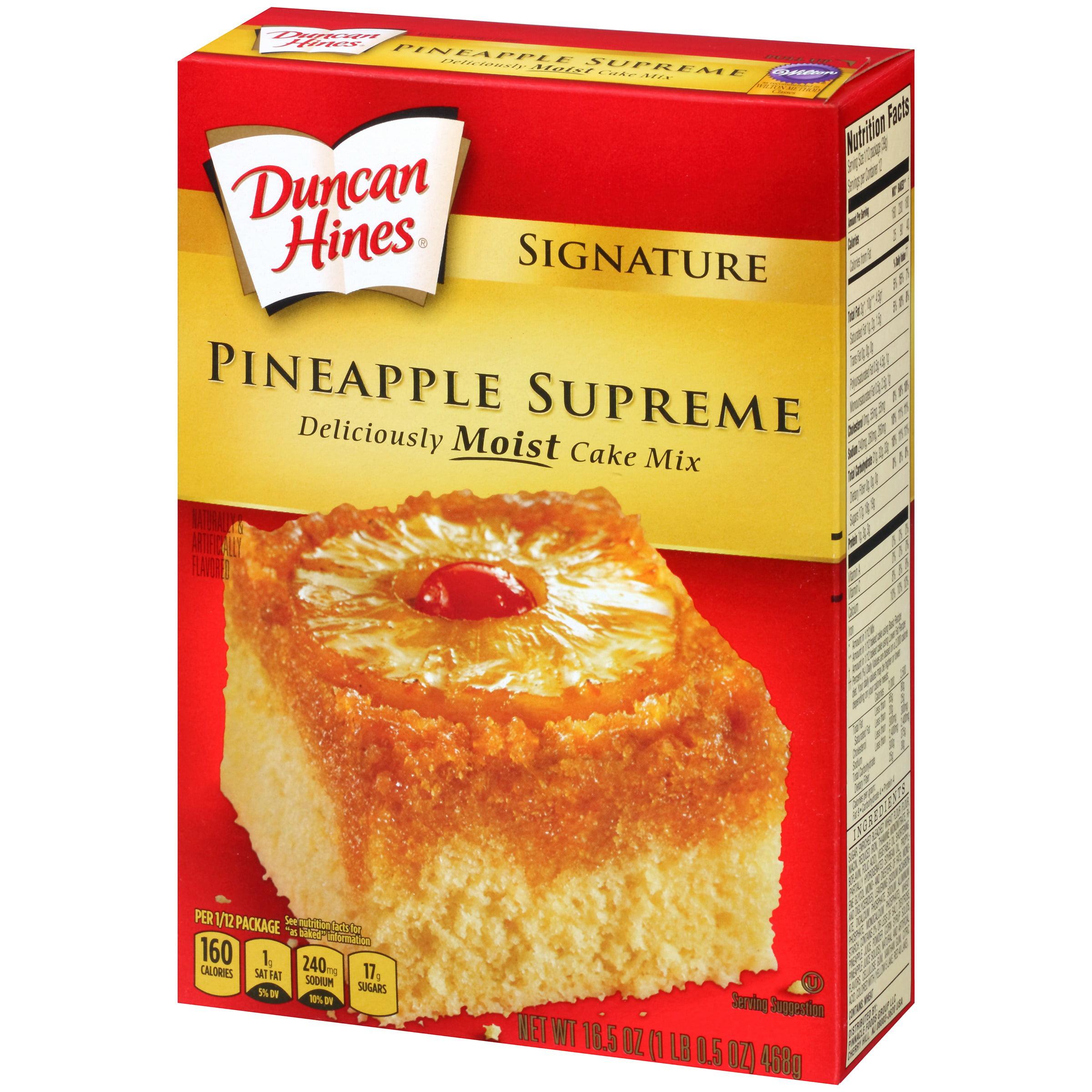 Duncan hines pineapple supreme cake recipe