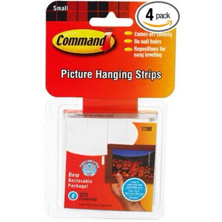 Command Picture Hanging Interlocking Fasteners, 3M By 3M