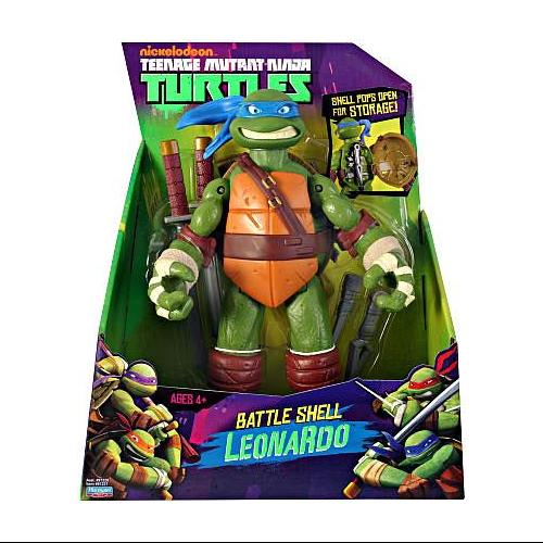 "Teenage Mutant Ninja Turtles Battle Shell Leonardo 11"" Action Figure"