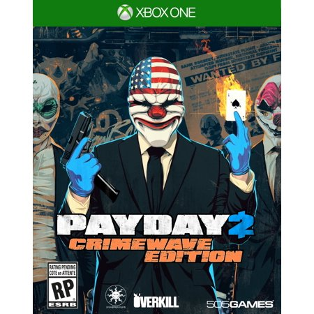 Payday 2: Crimewave, 505 Games, Xbox One, (Payday 2 Best Guns)