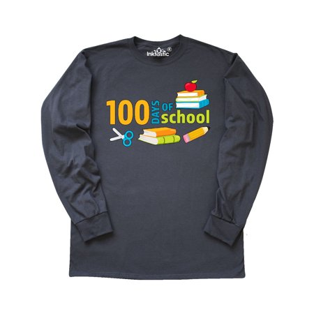 100 Days of School for teachers and students Long Sleeve T-Shirt for $<!---->