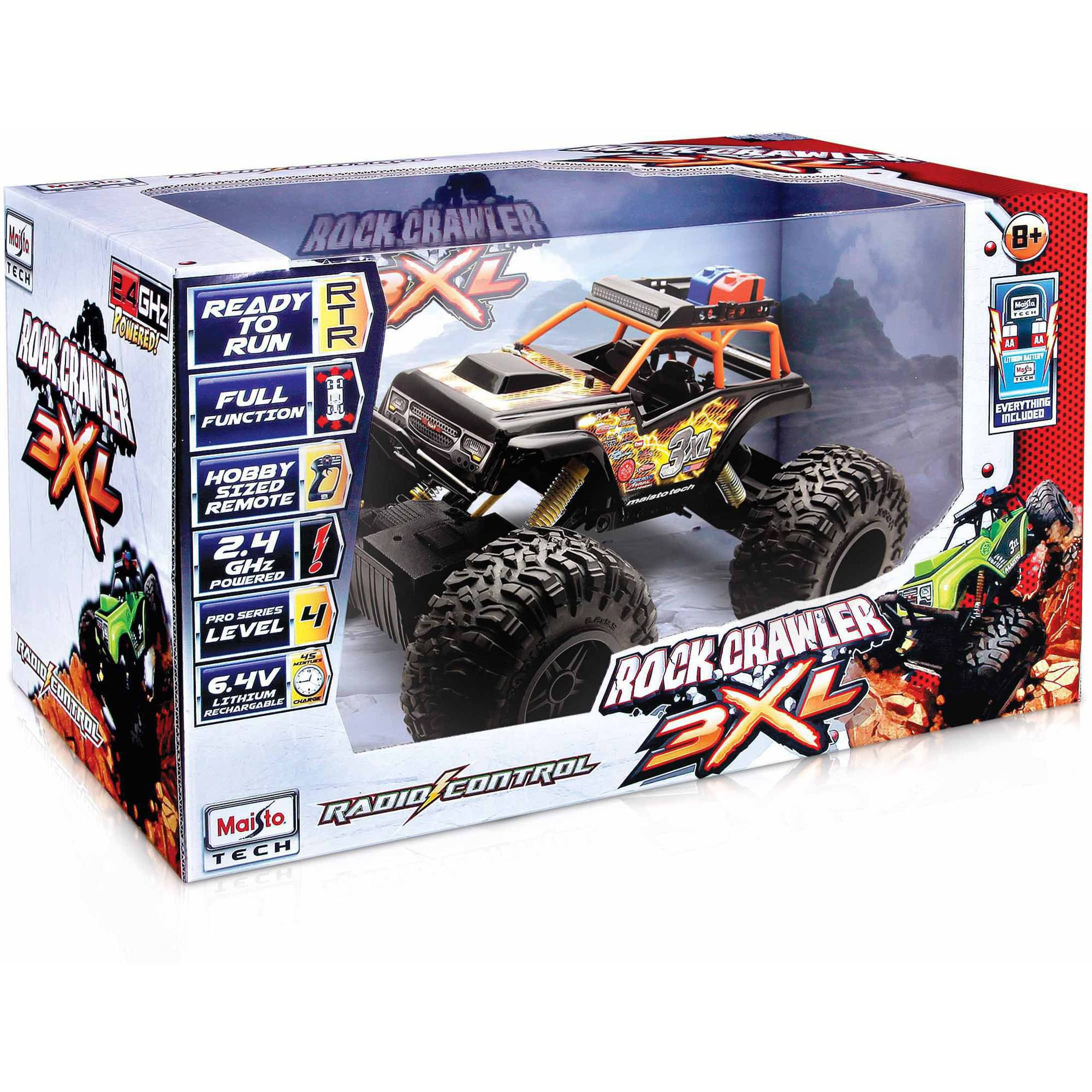 Rock Crawler 3XL RC Car