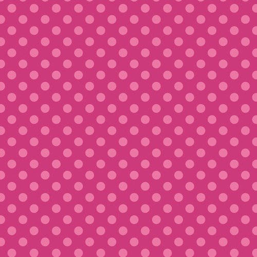 Emma & Mila Hoot Coco Collection Cotton Tonal Dot Pink Fabric, per Yard