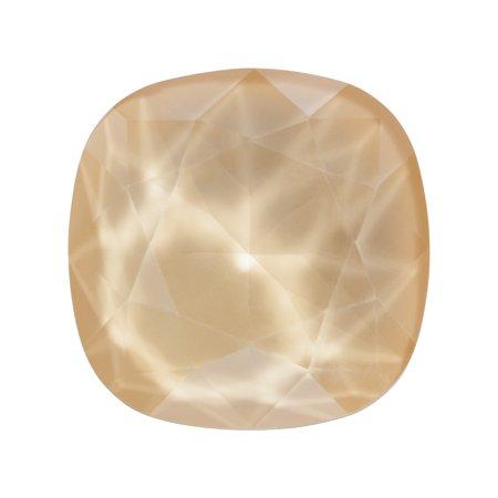- Swarovski Crystal, #4470 Cushion Fancy Stone 12mm, 1 Piece, Crystal Ivory Cream