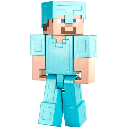 Minecraft Steve (in Diamond Armor) Large Figure