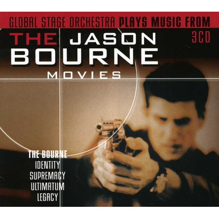Plays Music from the Jason Bourne Movies Soundtrack (CD) - Play Halloween Soundtrack