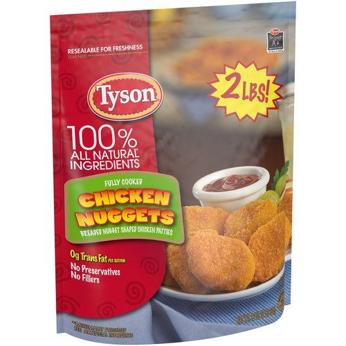 Tyson Chicken Nuggets, 32 oz