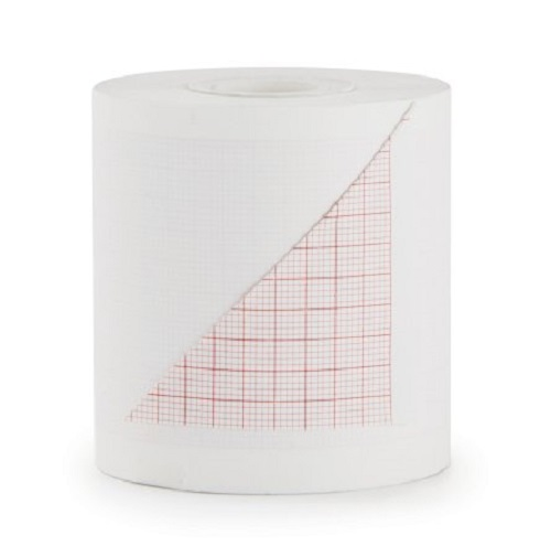 McKesson ECG Recording Paper 2.47 Inch X 150 Foot Roll - Case of 50