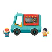 Fisher-Price Little People Serve it Up Food Truck Musical Push-Along Toy