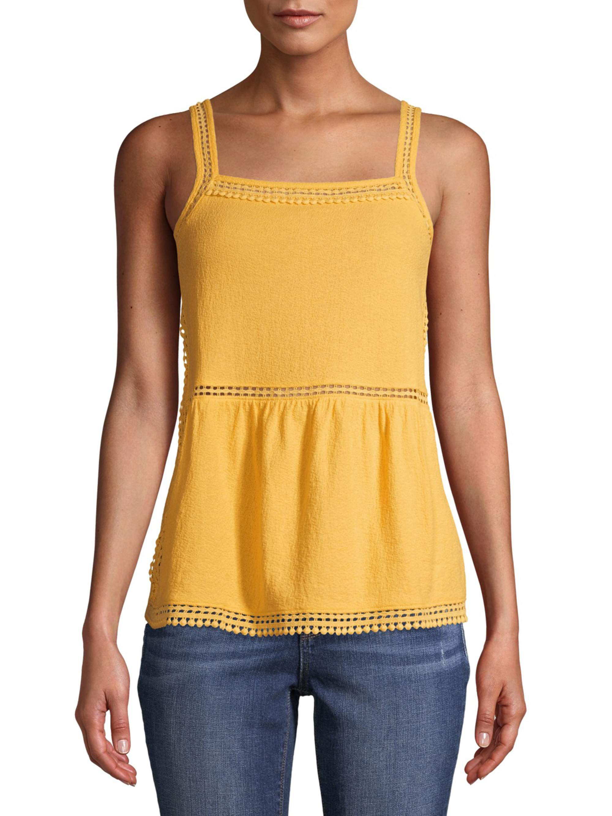 Crafted Kids Girls 2 Piece Jersey Vest Infant Cami Tank Top Crew Neck Cotton