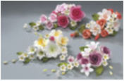 Cake Decoration Gum Paste Flower Assortment