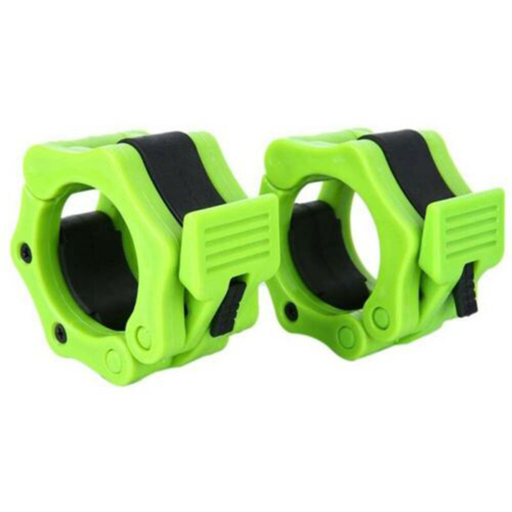 2pcs Olympic Weight Bar Collar Barbell Bar Dumbbell Locking Spin Clamp 50mm//25m