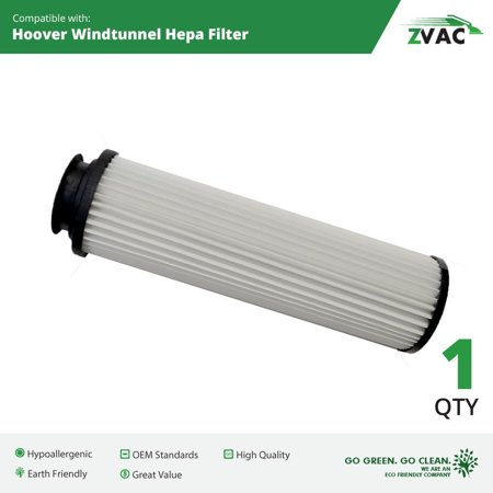 - Hoover Windtunnel Washable HEPA Vacuum Cleaner Filter | Fits Hoover Windtunnel, Windtunnel Savvy, Windtunnel Bagless | Replaces Part # 43611-042, 42611-049, 40140-201, 38-2306-07 By ZVac