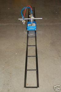 BLUEROCK CG-30 Gas Cutting Track Torch Motorized Burner Cutter Machine w  12' Track by