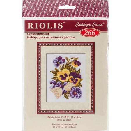 RIOLIS Counted Cross Stitch Kit 5