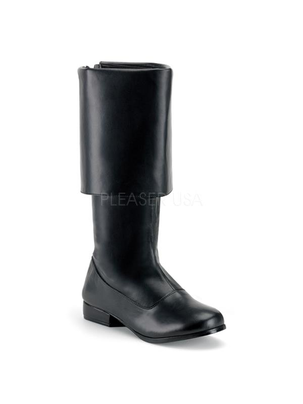 PIR100/B/PU Funtasma Men's Boots BLACK Size: XL