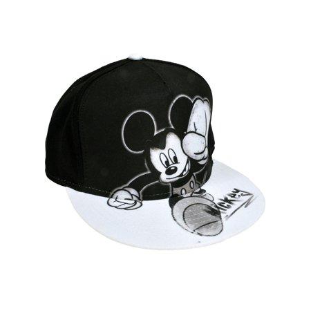 cbfcd8937878f Youth Boys Mickey Mouse Smash Baseball Hat Cap - Black Snapback - image 1  of 2 ...