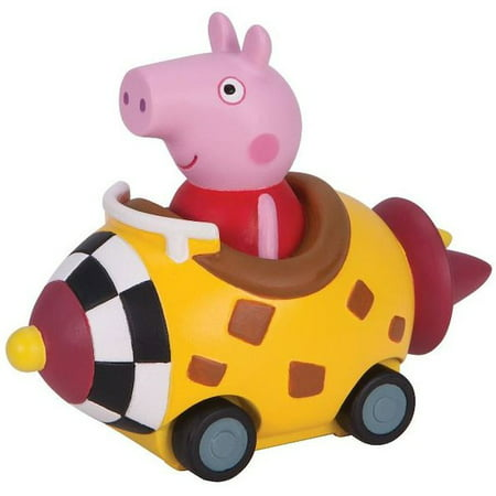 Yellow Rocket (Peppa Pig Mini Buggy Peppa in Yellow Rocket Vehicle)